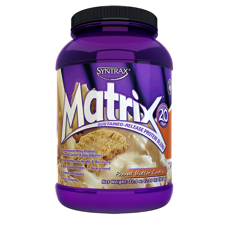 Syntrax Matrix Protein Blend 907g (2 lbs) Peanut Butter Cookie