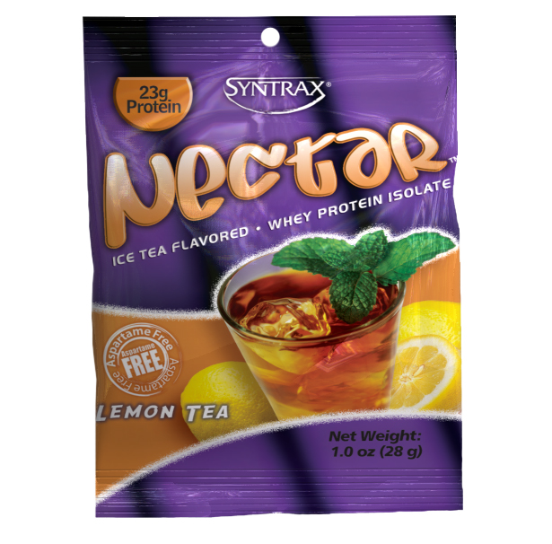 Syntrax Nectar Grap N GO 1 Box (12 Packet)   Lemon Tea
