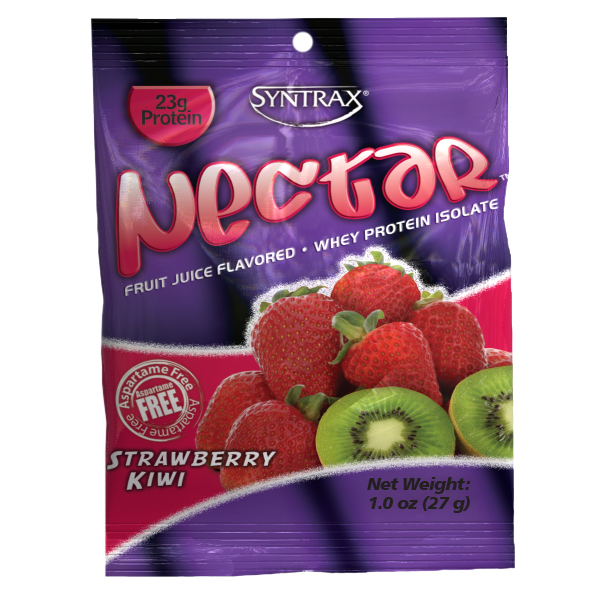 Syntrax Nectar Grap N GO 1 Box (12 Packet)  Strawberry Kiwi
