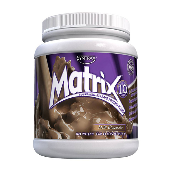 SYNTRAX MATRIX PROTEIN BLEND 454 G. (1 lb)  Milk Chocolate