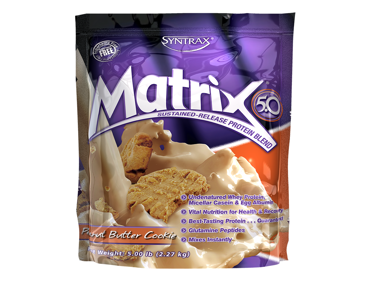 SYNTRAX MATRIX PROTEIN BLEND 2.27 kg. (5 lbs) Peanut Butter Cookie