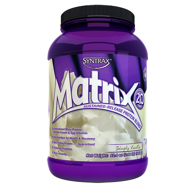 Syntrax Matrix Protein Blend 907g (2 lbs) Simply Vanilla