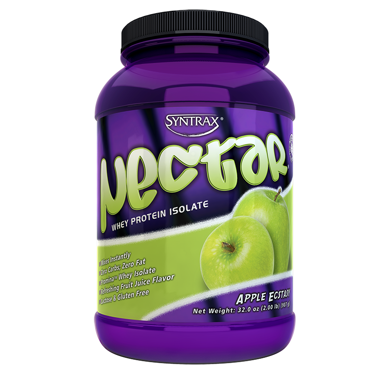 Syntrax Nectar Whey Protein Isolate Apple Ecstasy 907g. (2 lbs)